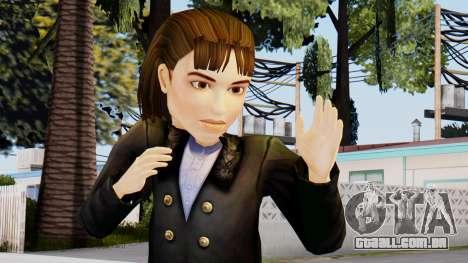 Lara Croft Child para GTA San Andreas