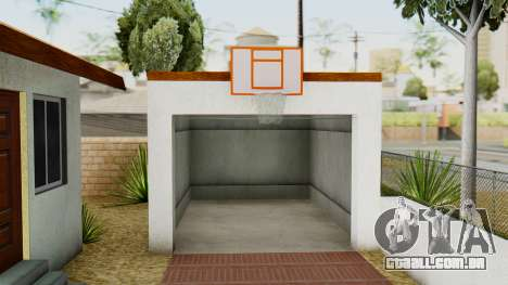 Big Smoke House para GTA San Andreas por diante tela
