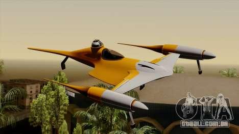 Star Wars N-1 Naboo Starfighter para GTA San Andreas
