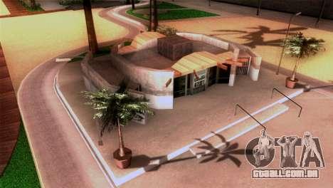 Nova praia em Los Santos para GTA San Andreas por diante tela