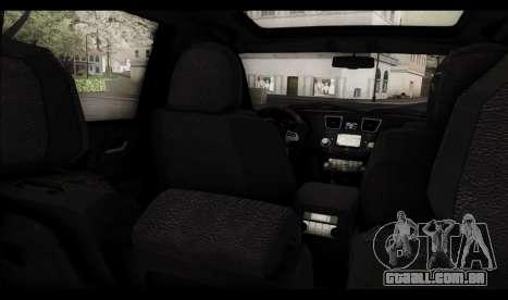 Toyota Highlander 2011 para o motor de GTA San Andreas