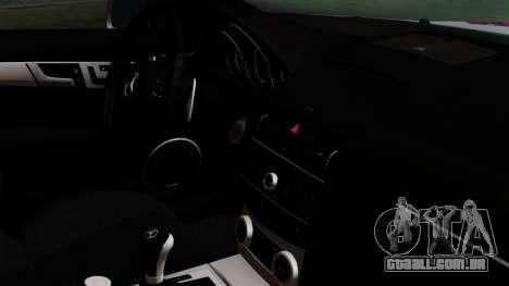 Mercedes-Benz C63 AMG Momoka and Nonoka Itasha para GTA San Andreas vista direita