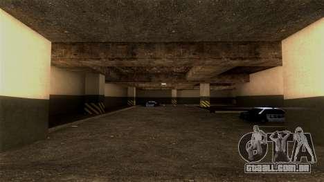 Novo LSPD Estacionamento para GTA San Andreas segunda tela