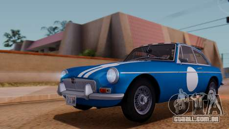 MGB GT (ADO23) 1965 FIV АПП para GTA San Andreas interior