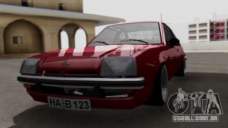 Opel Manta B1 para GTA San Andreas
