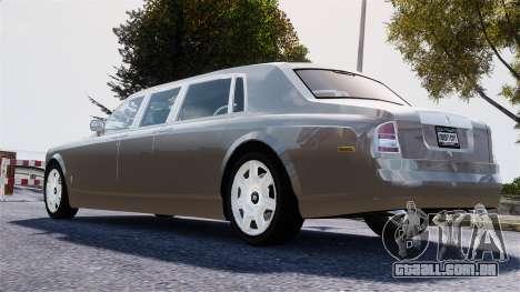 Rolls-Royce Phantom LWB para GTA 4 esquerda vista