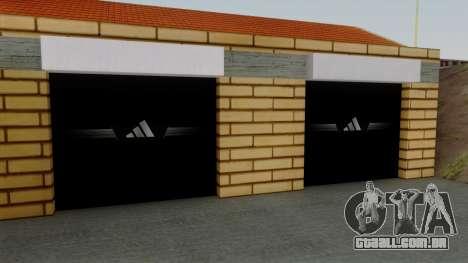 Novas texturas da antiga garagem em Doherty para GTA San Andreas terceira tela