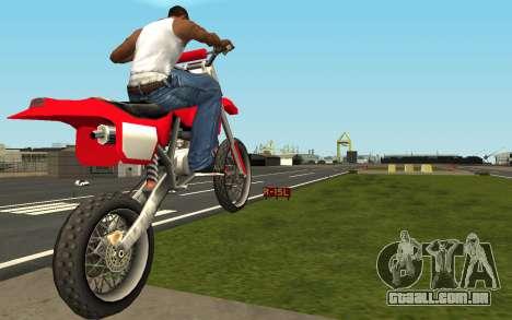 New Sky para GTA San Andreas segunda tela