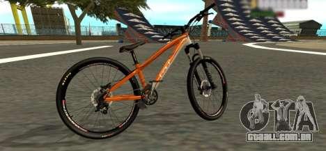 GT La Bomba 2013 para GTA San Andreas traseira esquerda vista