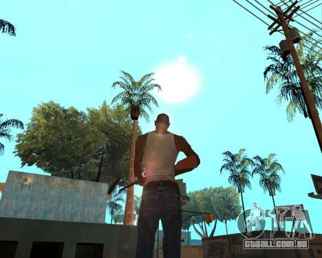 HQ Effects and Sun Final Version para GTA San Andreas segunda tela