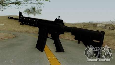 AR-15 Ironsight para GTA San Andreas segunda tela