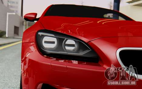 BMW M6 2013 v1.0 para vista lateral GTA San Andreas
