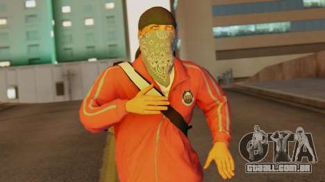[BF Hardline] Gang Professional para GTA San Andreas