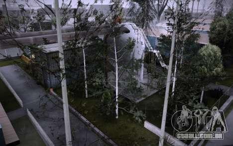 Edifício na Grove Street v0.1 Beta para GTA San Andreas oitavo tela