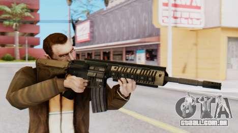 M4A1 Magpul para GTA San Andreas terceira tela