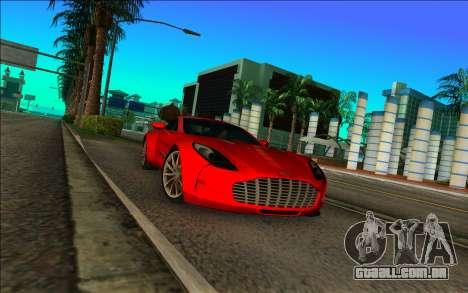 Aston Martin One-77 para GTA Vice City