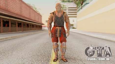 [MKX] Baraka para GTA San Andreas segunda tela