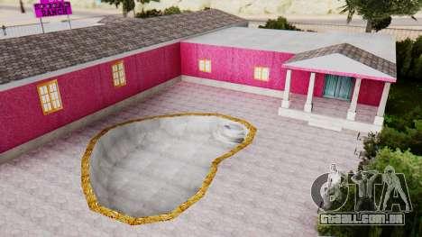 Novas texturas do clube, em Las Venturas para GTA San Andreas quinto tela