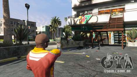 GTA 5 Asiimov Pistol.50 terceiro screenshot