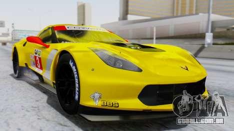 Chevrolet Corvette C7R GTE 2014 PJ1 para GTA San Andreas