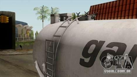 Trailer Kotte Garant para GTA San Andreas vista interior