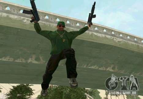AKS-74U para GTA San Andreas sexta tela