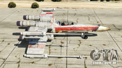 GTA 5 X-wing T-65 v1.1 segundo screenshot