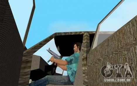 Designer Série - Almirante para GTA Vice City vista traseira esquerda