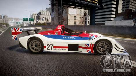 Radical SR8 RX 2011 [27] para GTA 4 esquerda vista