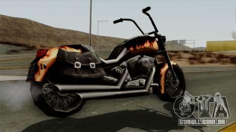 Freeway Diablo para GTA San Andreas esquerda vista