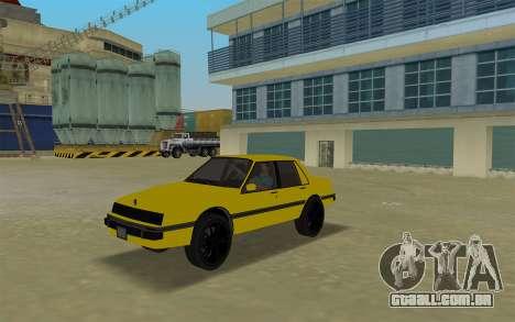 GTA IV Willard Submarino Amarelo para GTA Vice City deixou vista