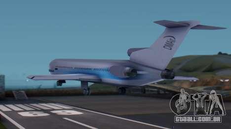 DMA Airtrain from GTA 3 v1.0 para GTA San Andreas esquerda vista