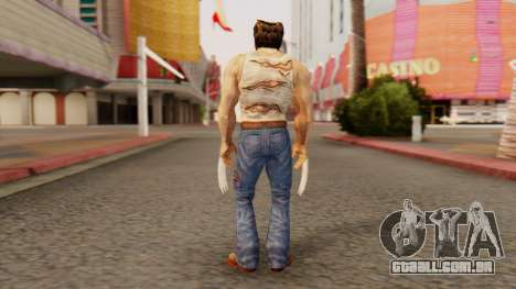 Wolverine v2 para GTA San Andreas terceira tela