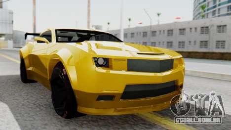 Chevrolet Camaro GT para GTA San Andreas