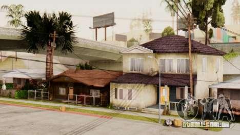 HD Grove Street para GTA San Andreas por diante tela