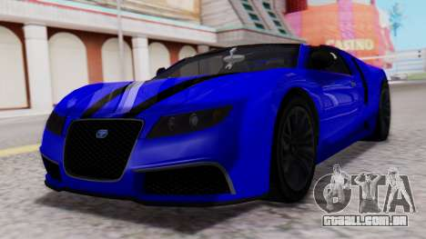 GTA 5 Truffade Adder Convertible para GTA San Andreas
