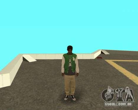 O novo garoto sobre o bloco grove Street para GTA San Andreas
