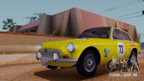 MGB GT (ADO23) 1965 FIV АПП para o motor de GTA San Andreas