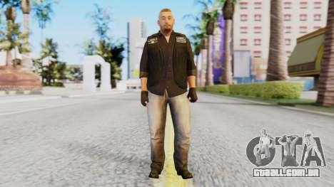 [GTA5] The Lost Skin5 para GTA San Andreas segunda tela