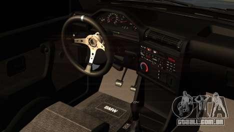 BMW M3 E30 Cabrio para GTA San Andreas vista direita