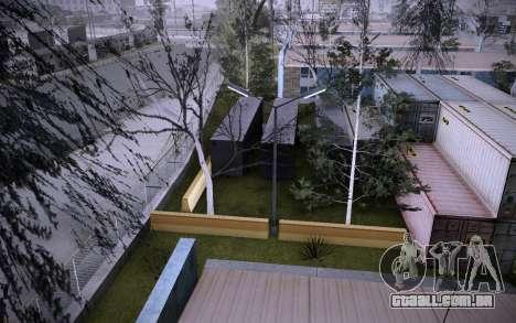 Edifício na Grove Street v0.1 Beta para GTA San Andreas nono tela