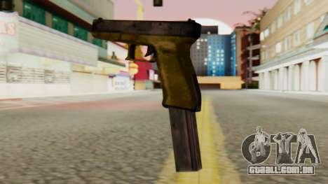 Glock 17 SA Style para GTA San Andreas segunda tela