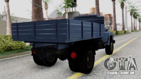 DAC 6135 Facelift para GTA San Andreas esquerda vista