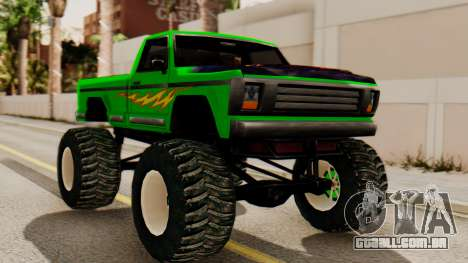 Monster New Texture para GTA San Andreas