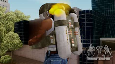 Original HD Jetpack para GTA San Andreas por diante tela