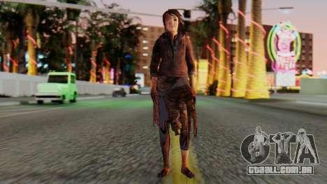 Born Child Girl para GTA San Andreas segunda tela
