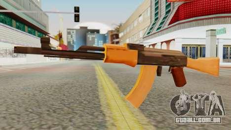 AK-74 SA Style para GTA San Andreas