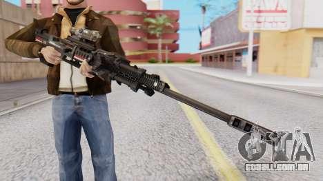 Sniper Rifle 8x Scope para GTA San Andreas segunda tela