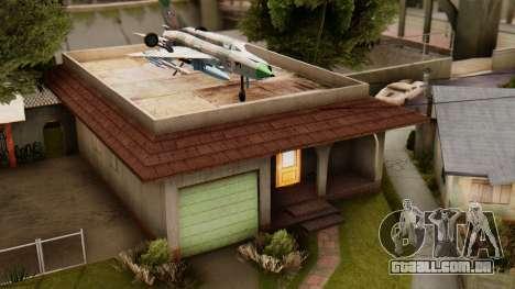 HD Grove Street para GTA San Andreas segunda tela