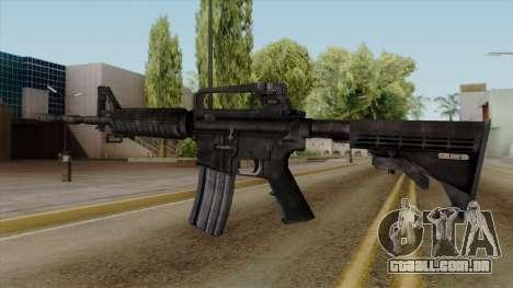 Original HD M4 para GTA San Andreas segunda tela